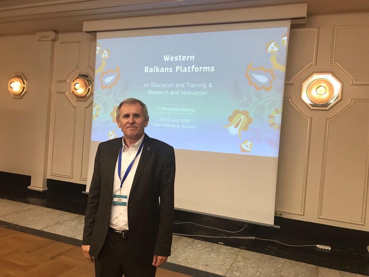 INNOFEIT presentation at Western Balkans Platform