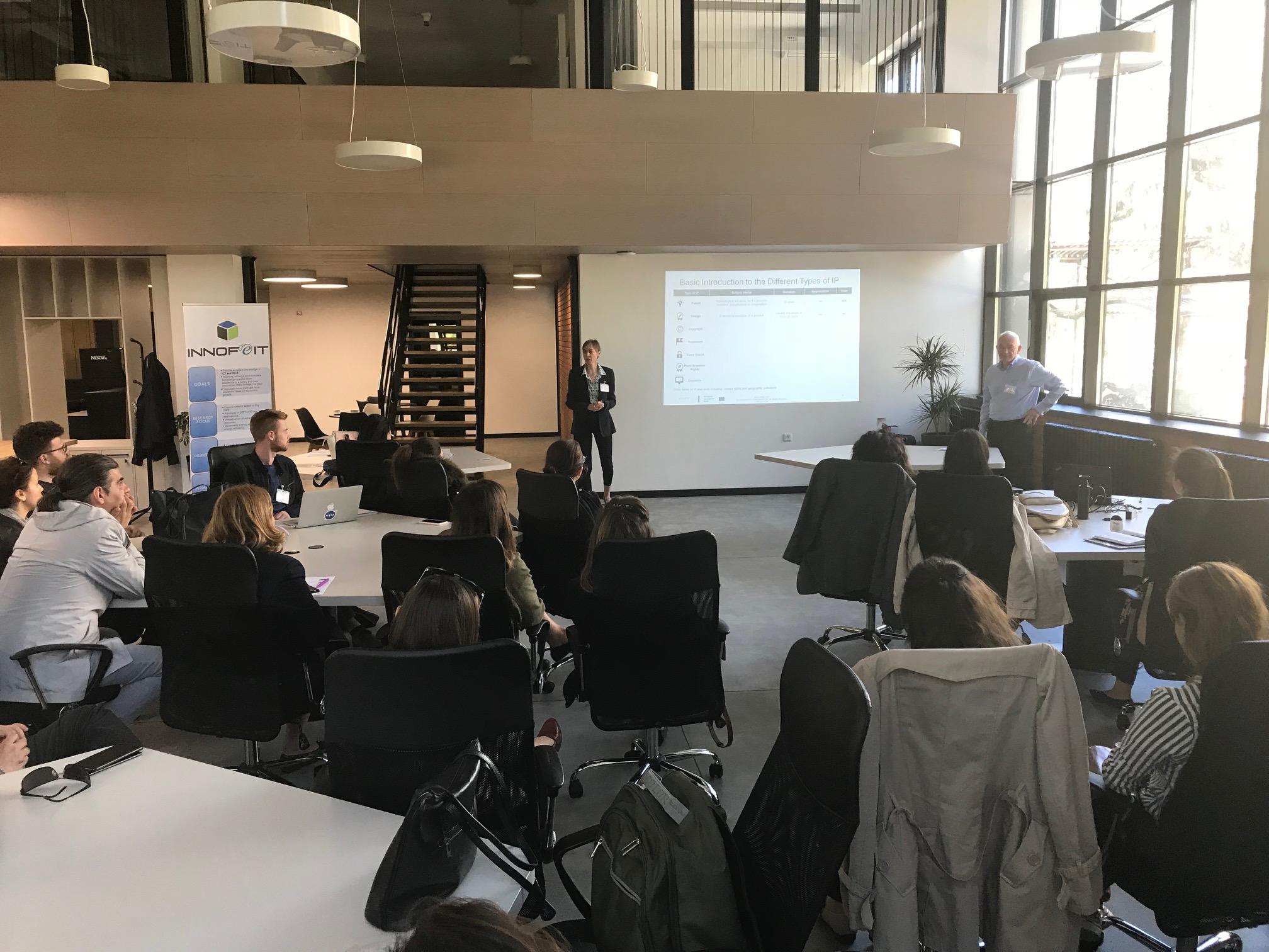 Intellectual Property Workshop held in INNOFEIT premises